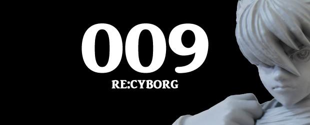 サイボーグ009「009 RE:CYBORG」只今の島村ジョー原型