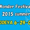 ワンダーフェスティバル2015(夏)最終案内です。